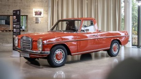 """220D """"La Pickup"""": esta foi a primeira picape fabricada pela Mercedes-Benz"""