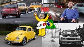 Esportivos VW a ar no Velo Città, um Porsche 356 A no Brasil, como anda um Fusca com motor Subaru e mais nos melhores vídeos da semana!