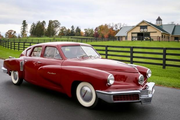 1947-Tucker-48-prototype-front-three-quarter