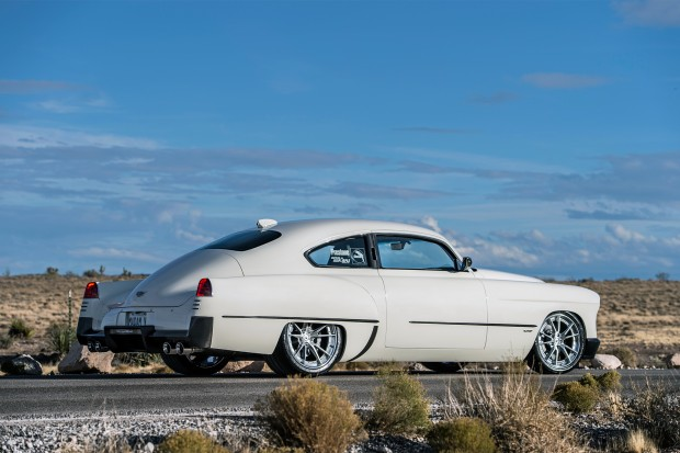 1948-Madam-V-Cadillac-by-Ringbrothers-rear-three-quarter