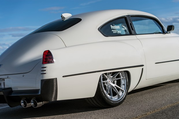 1948-Madam-V-Cadillac-by-Ringbrothers-rear-three-quarter-detail