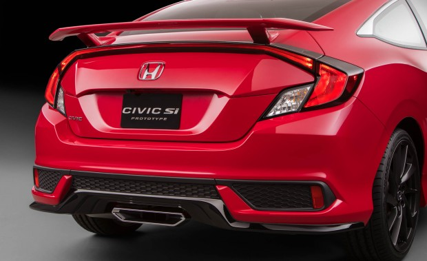 2017 Honda Civic Si coupe prototype