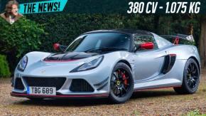 O Lotus Exige Sport ganhou 380 cv para envergonhar supercarros na pista