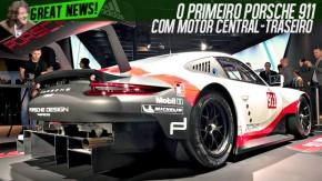 O novo Porsche RSR é o primeiro 911 de motor central-traseiro da história