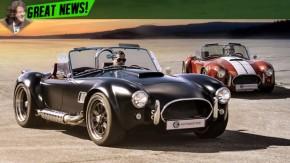 O Shelby Cobra voltará a ser produzido em série em 2017 – e com um V8 de 550 cv!