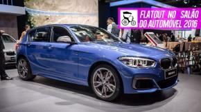 O novo M140i de 340 cv, a opulência do BMW 750Li M Sport, o crossover X2 e as novidades da Mini no Salão do Automóvel