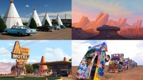"""Conheça os lugares reais que inspiraram Radiator Springs e os cenários de """"Carros"""""""