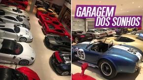 Porsche 911 GT1, Mercedes-Benz CLK GTR e mais: esta deve ser a coleção de supercarros mais fodástica da galáxia