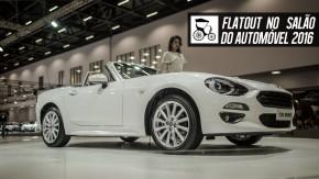 Fiat traz 124 Spider e o apresenta os novos Mobi 1.0 três-cilindros e Toro 2.4 Tigershark no Salão do Automóvel