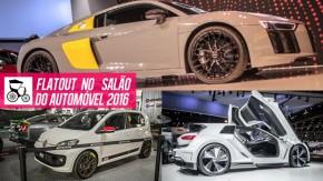 Os conceitos e lançamentos da VW, o Audi R8, um protótipo Le Mans e um veículo espacial de verdade no Salão do Automóvel