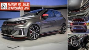 Volkswagen GT Concept, o hot hatch do Gol que a gente sempre quis – mas provavelmente não vai ter