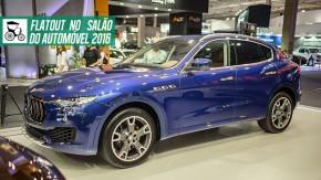 Maserati Levante é o lançamento da Maserati em sua volta ao Salão do Automóvel