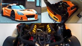 Acelerar este Lotus Elise com motor V8 Ferrari deve ser deliciosamente assustador