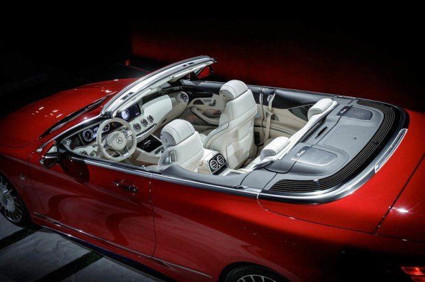 Exclusive Premiere of the Mercedes-Maybach S 650 Cabriolet, Los Angeles Auto Show 2016