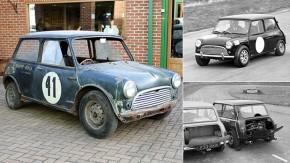 Isto é um Mini Cooper com motor V8 traseiro e tração dianteira – não, nós não estamos loucos