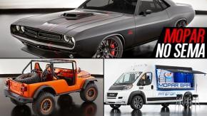 Um Dodge Challenger restomod, um Dodge Durango Hemi 6.4 um bar sobre rodas: os destaques da Mopar no SEMA Show