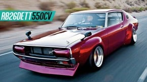 """Um Skyline """"Kenmeri"""" da década de 1970 com motor RB26DETT de 550 cv: seria este o restomod perfeito?"""