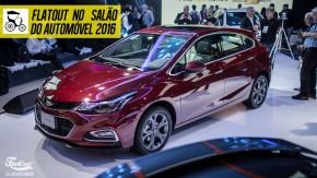 Novos Cruze Sport6, Tracker e Camaro SS são as atrações da Chevrolet no Salão do Automóvel