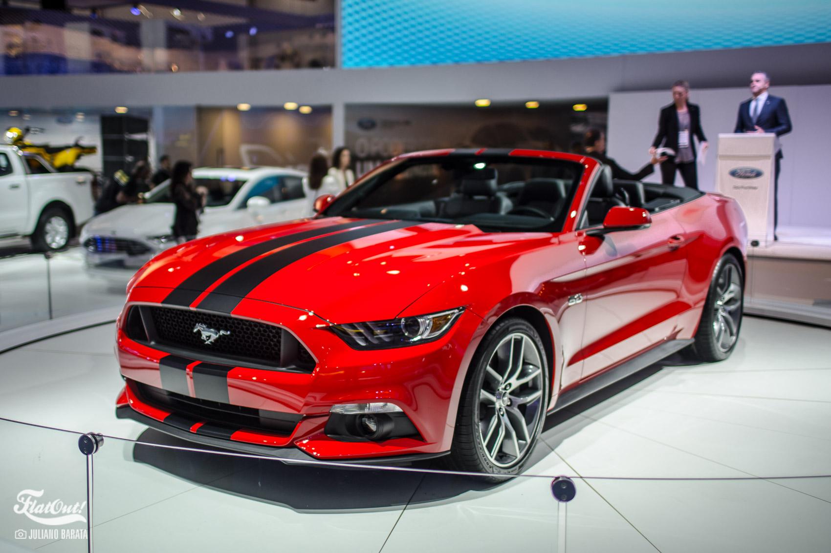 Ford anuncia Mustang no Brasil em 2018 e traz o novo GT e ...