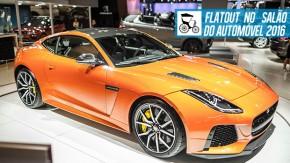 O F-Type mais rápido de todos, Evoque conversível e o novo Discovery 5: a Jaguar Land Rover no Salão do Automóvel