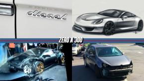 Congresso avalia liberar carros a diesel, próximo Porsche 911 não terá motor central, clientes devolvem carros depenados à Volkswagen e mais!