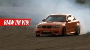 BMW 1M com o V10 do M5 E60 se transforma em uma máquina de drift
