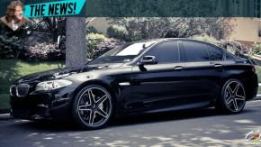 BMW tranca ladrão de carros remotamente dentro de um Série 5