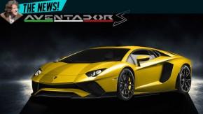 Lamborghini Aventador S chega em janeiro – e poderá ter 770 cv