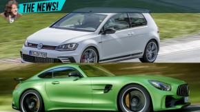 Mercedes AMG GT R e Golf GTI Clubsport S quebram novos recordes em Nürburgring