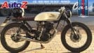 Project Bikes #395: a velha Turuna começa a ganhar formas de Café Racer