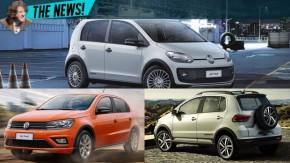 Volkswagen lança novos Gol Track, up! Track e CrossFox Urban (?) White