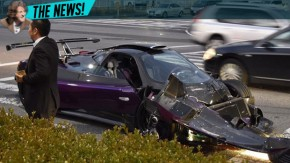 Pagani Zonda ZoZo bate em Mercedes-Maybach em acidente milionário