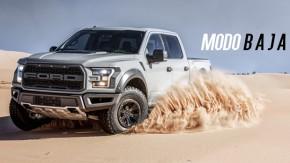"""Como o """"modo Baja"""" transforma a Ford F-150 Raptor em uma picape de rally raid – ou quase isto"""
