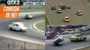 Quando os holandeses fizeram uma corrida em marcha à ré em um autódromo de Fórmula 1