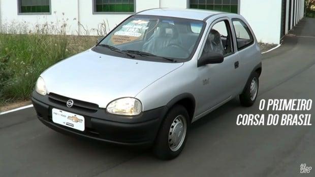 Chassi 00001: este é o primeiro Chevrolet Corsa fabricado no Brasil