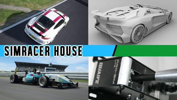 Porsche Pack Vol 3 no Assetto Corsa, Lamborghini SuperVeloce no Project CARS, Formula RaceRoom 3 chegando e muito mais