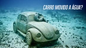 Pare de acreditar em carros movidos a água