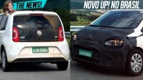 Volkswagen já está testando o up! reestilizado no Brasil
