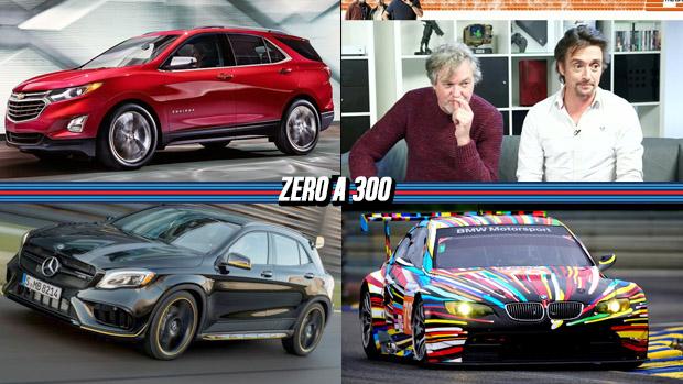Clarkson, Hammond e May mostram seu talento nos games, Chevrolet Equinox irá substituir Captiva, as cores mais populares de 2016 e mais!