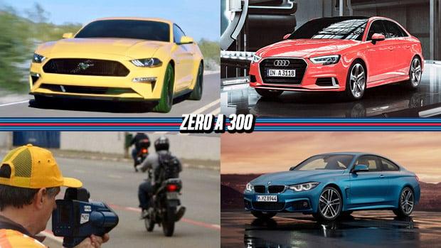 Mustang de cara nova, excesso de velocidade é a infração mais cometida no Brasil, Audi A3 recebe facelift e mais!