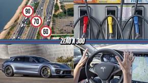 Justiça libera aumento de limites de velocidade nas Marginais de SP, preços dos combustíveis continuam subindo, Panamera Wagon chega neste ano e mais!