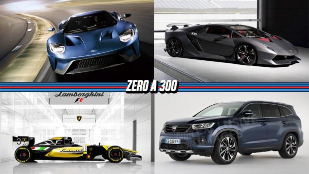 Ford revela todos os detalhes técnicos do novo GT, Lamborghini pensa em voltar à F1, Renault Duster pode ganhar versão maior e mais!