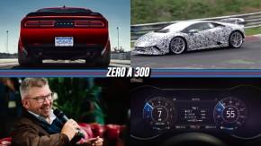 Dodge Demon terá tração integral e pneus de arrancada, Huracán Performante será o mais rápido dos Lamborghini, Fórmula 1 mais competitiva e menos artificial e mais!