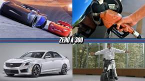 """Os novos personagens de """"Carros 3"""", Petrobras anuncia novo reajuste, Cadillac lança serviço de """"assinatura"""" de carros e mais!"""