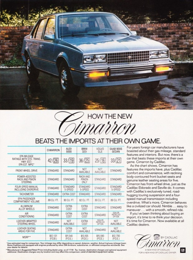 1982-Cadillac-Cimarron-November-1981-ad