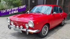 Este Fiat 850 Sport Coupé é um clássico italiano por um preço camarada no Brasil