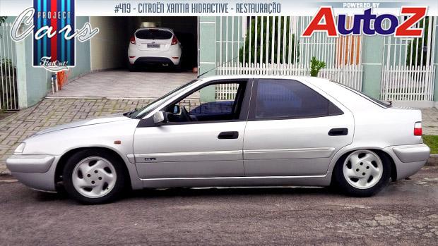Citroën Xantia Hidractive: a história do Project Cars #419