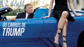Estes são os carros que Donald Trump tem ou já teve