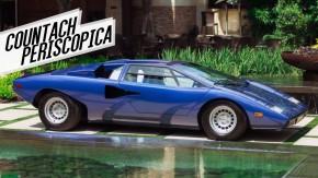 O que um Lamborghini Countach de primeira geração tem em comum com um submarino?