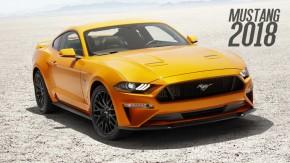 Ford Mustang 2018: visual mais retrô, suspensão magnética e câmbio de 10 marchas para brigar com o Camaro
